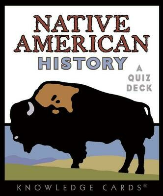 Native American History: A Quiz Deck