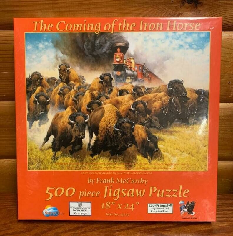 Coming of the Iron Horse Puzzle