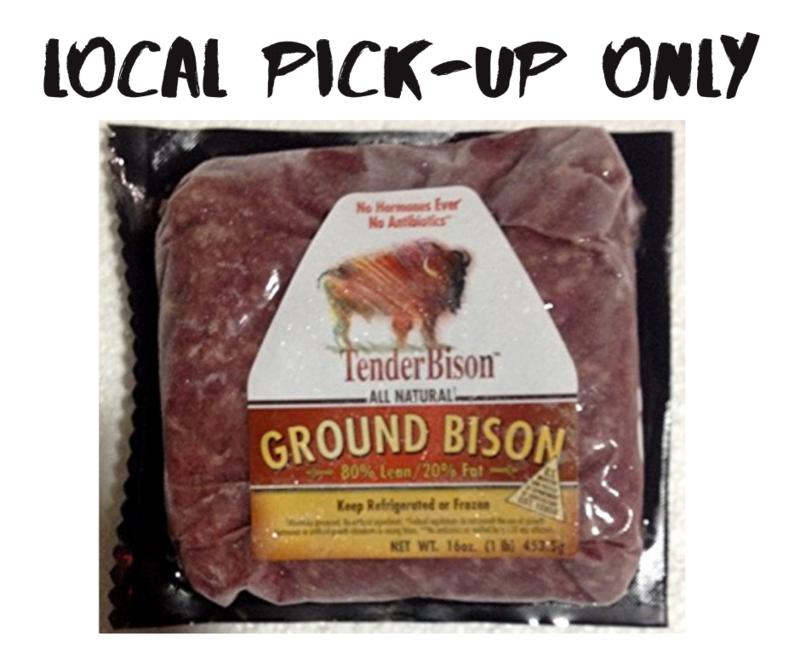 16 oz. Ground Bison Brick