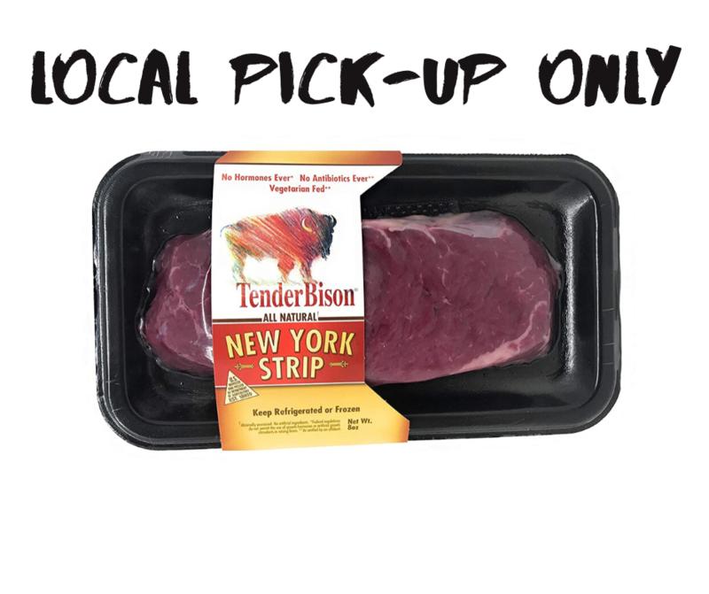 8 oz. Bison New York Strip Steak