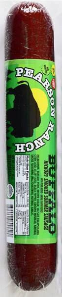 Buffalo Hickory Smoked Summer Sausage (6 oz.)