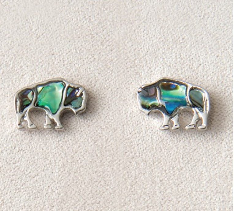 Pearle Buffalo Stud Earrings