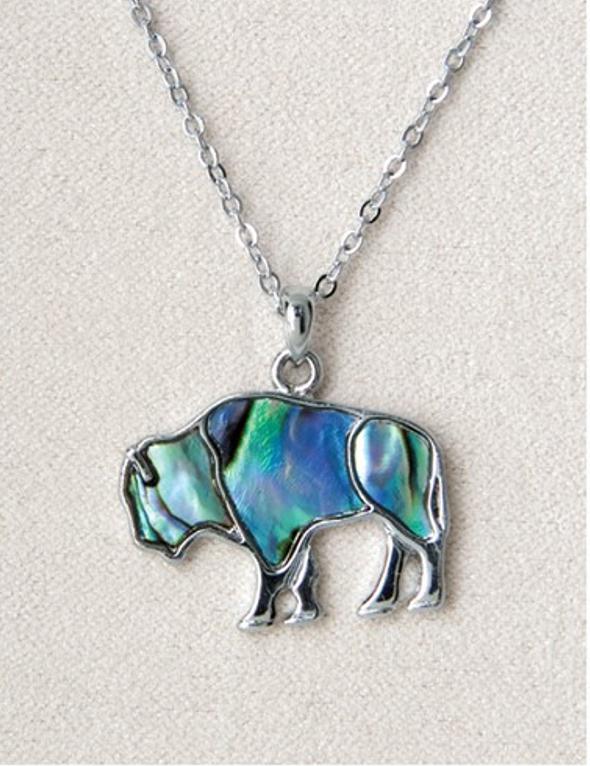 Pearle Buffalo Necklace