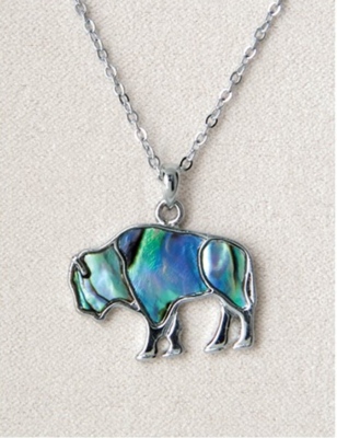 Pearl Bison Necklace