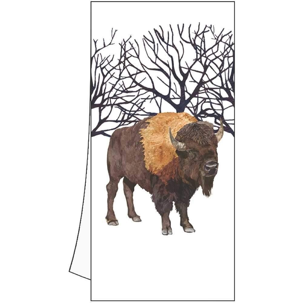 Winter Buffalo Kitchen Towel