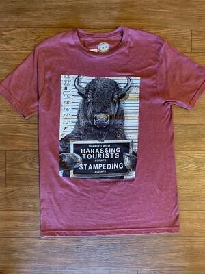 Mugshot Buffalo T-Shirt