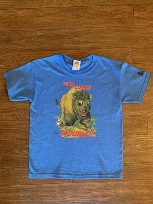 Here Comes Trouble Youth T-Shirt