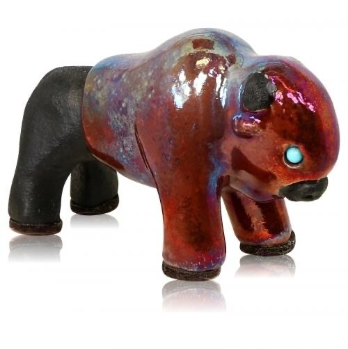 Spirit Friends Bison Figurine