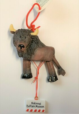 Buffalo Pull String Ornament