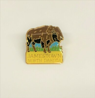 Jamestown, North Dakota Lapel Pin