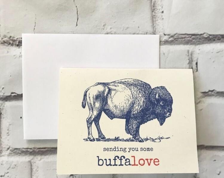 Buffalo Love Card
