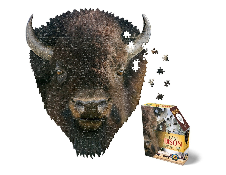 I Am Bison 550 Piece Puzzle