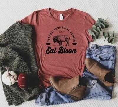 Eat Bison T-shirt