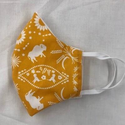 Mango Buffalo Flats Mask