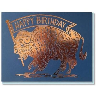 Birthday Buffalo Card