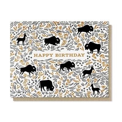 Prairie Birthday Card