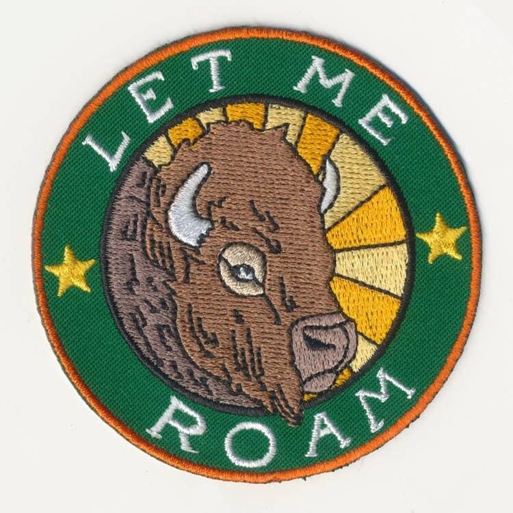 Let Me Roam Patch