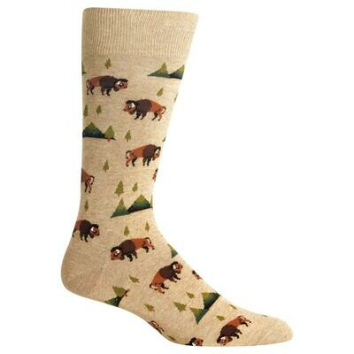 Men's Hemp Bison Socks