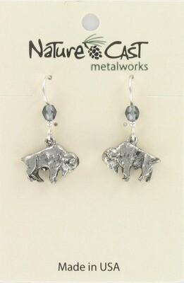 Buffalo Dangle Earrings