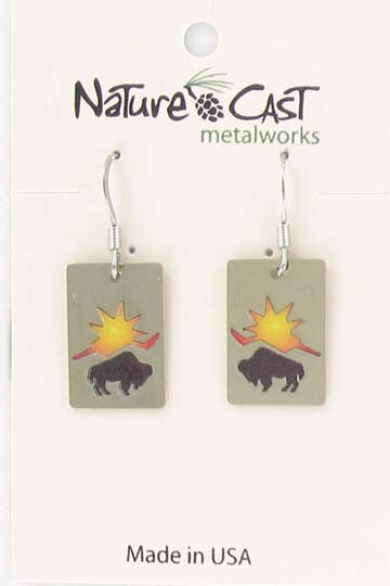 Bison & Sun Earrings