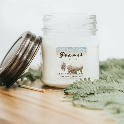 Roamer Soy Candle 8 oz Jar