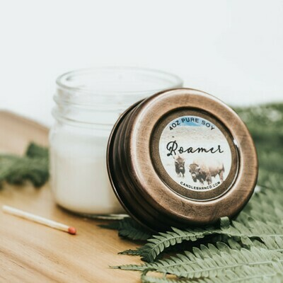 Roamer Soy Candle 4 oz Jar