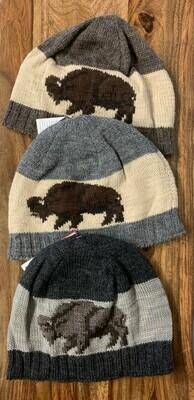Knit Buffalo Beanie