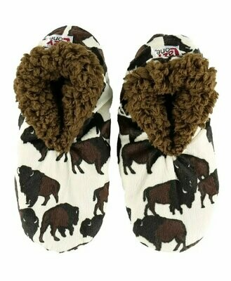 Buffalo Fuzzy Feet Slippers