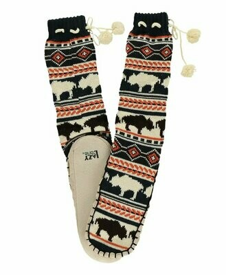 Adult Buffalo Fair Isle Mukluk Slipper