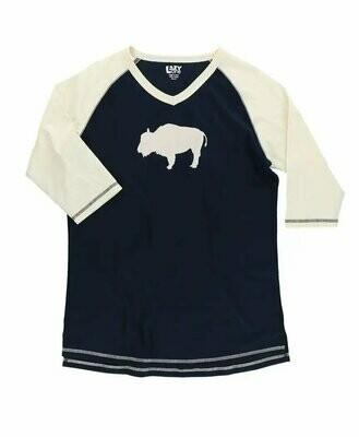 Buffalo Fair Isle Women's PJ Tall T-Shirt