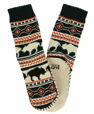 Kid's Buffalo Fair Isle Mukluk Slipper