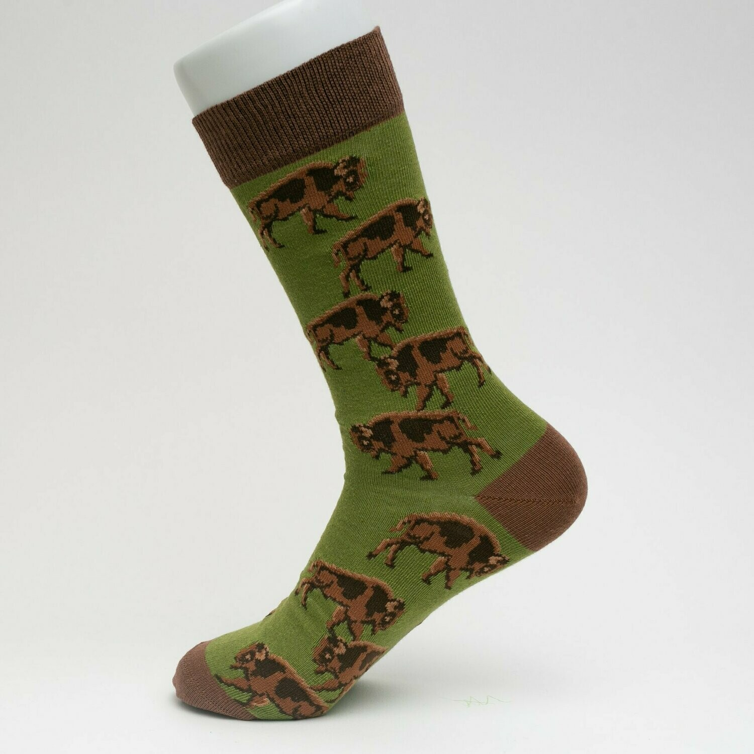 Buffalo Stampede Socks