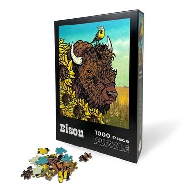 Bison & Sunflower Puzzle