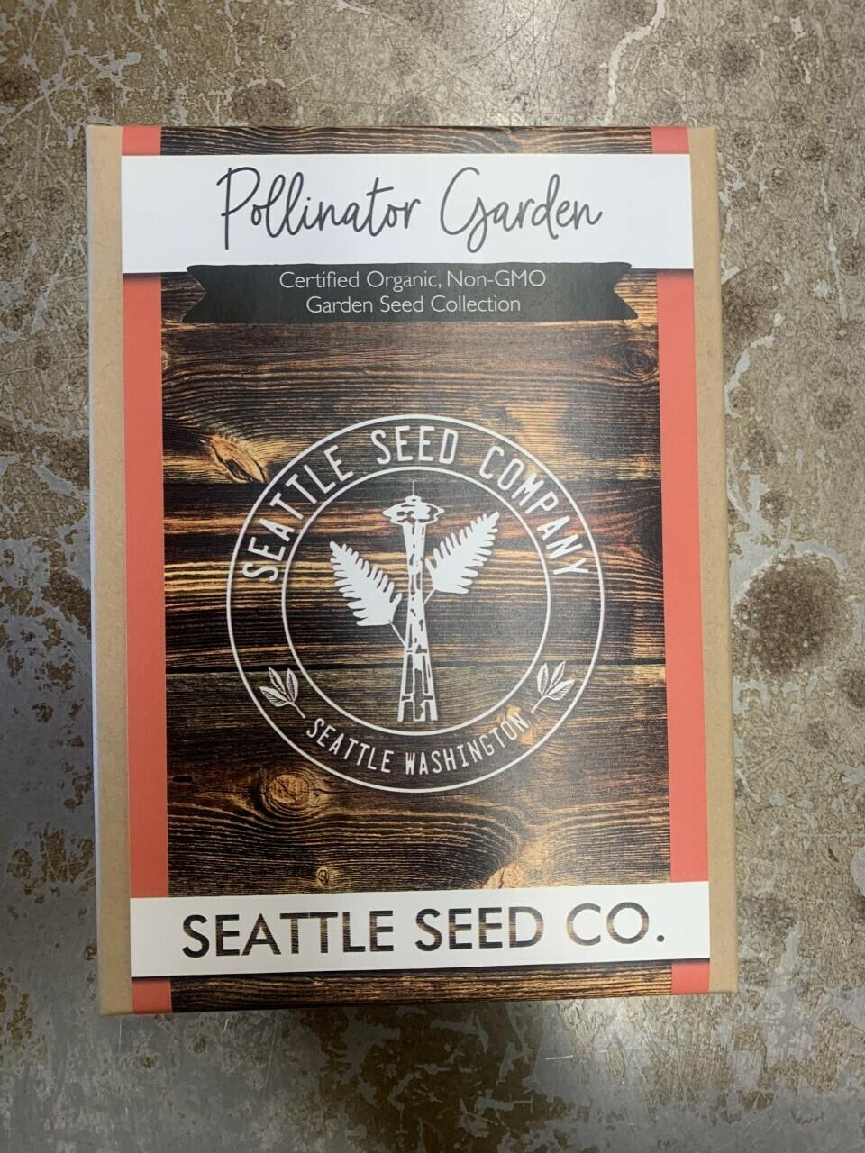 Organic Seed Pollinator Garden