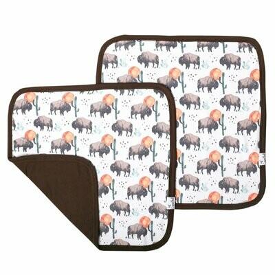 Bison Security Blanket Set of 2