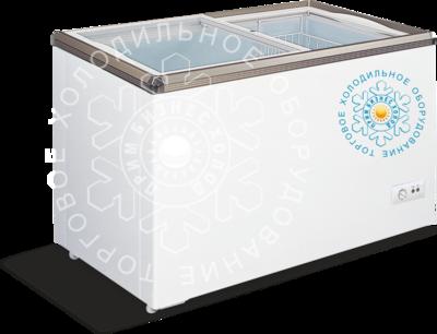 Морозильные лари со стеклянной крышкой  XINGXING XS-420