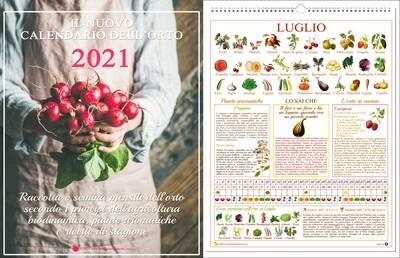Il Nuovo Calendario dell'Orto 2021