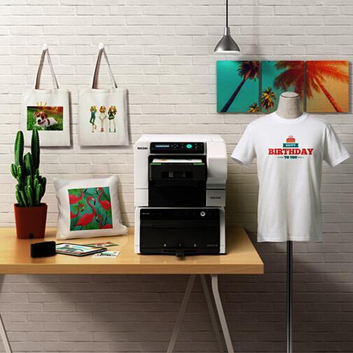 Impresora digital textil RICOH Ri 100
