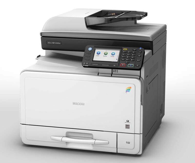 RICOH MP C305SPF. Impresora Multifunción COLOR A4