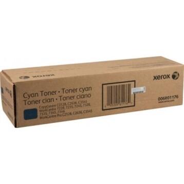 Xerox 006r01176 Toner original Cyan Workcentre 7228 / 7335 / 7345 CopyCentre C 2128, C 3545