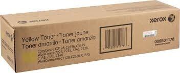 Xerox 006r01176 Toner original Amarillo Workcentre 7228 / 7335 / 7345 CopyCentre C 2128, C 3545