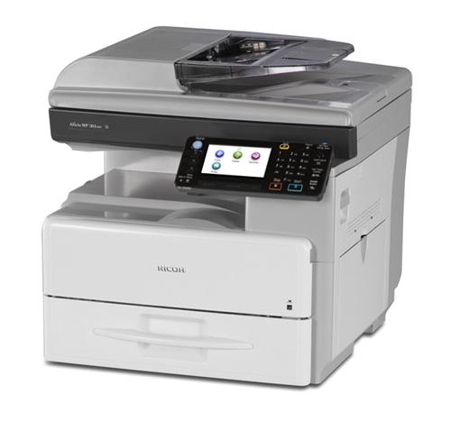 Alquiler fotocopiadora multifunción A4 BN RICOH 301SPF