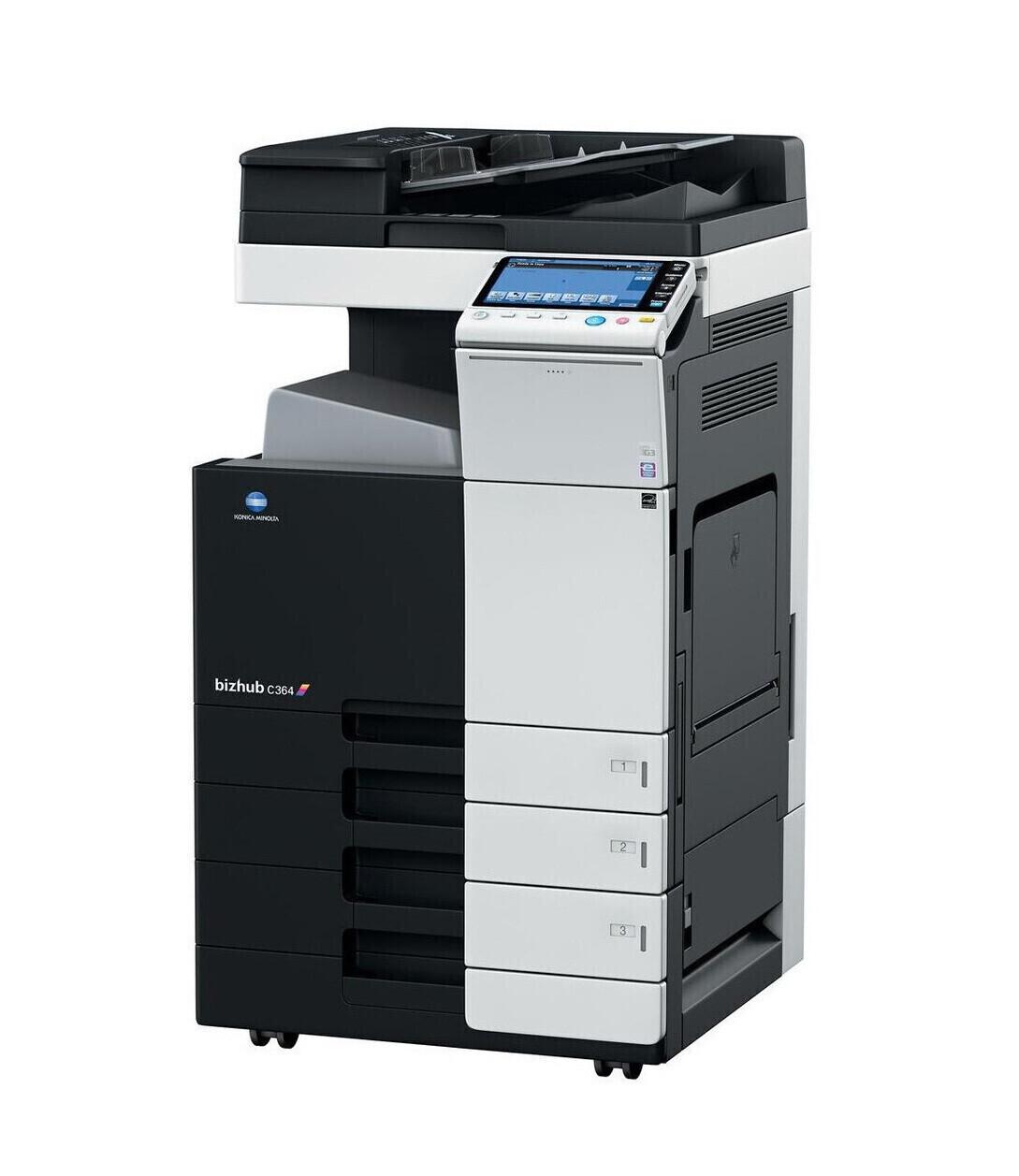 Alquiler fotocopiadora multifunción Konica Minolta Bizhub C364e A3 COLOR