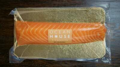 Smoke Salmon by Chef Shinya Ikeda