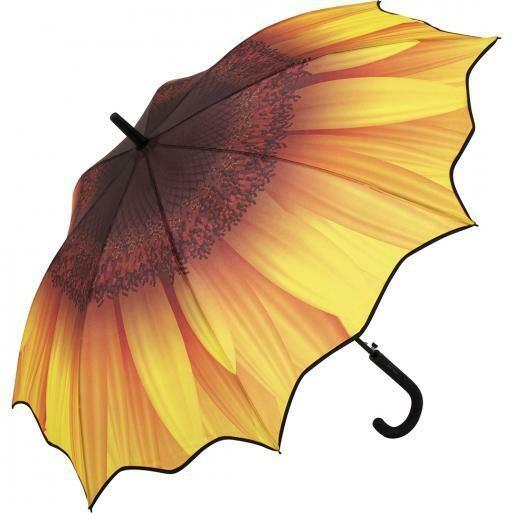 Motiv-Schirm | Sonnenblume oder Palme