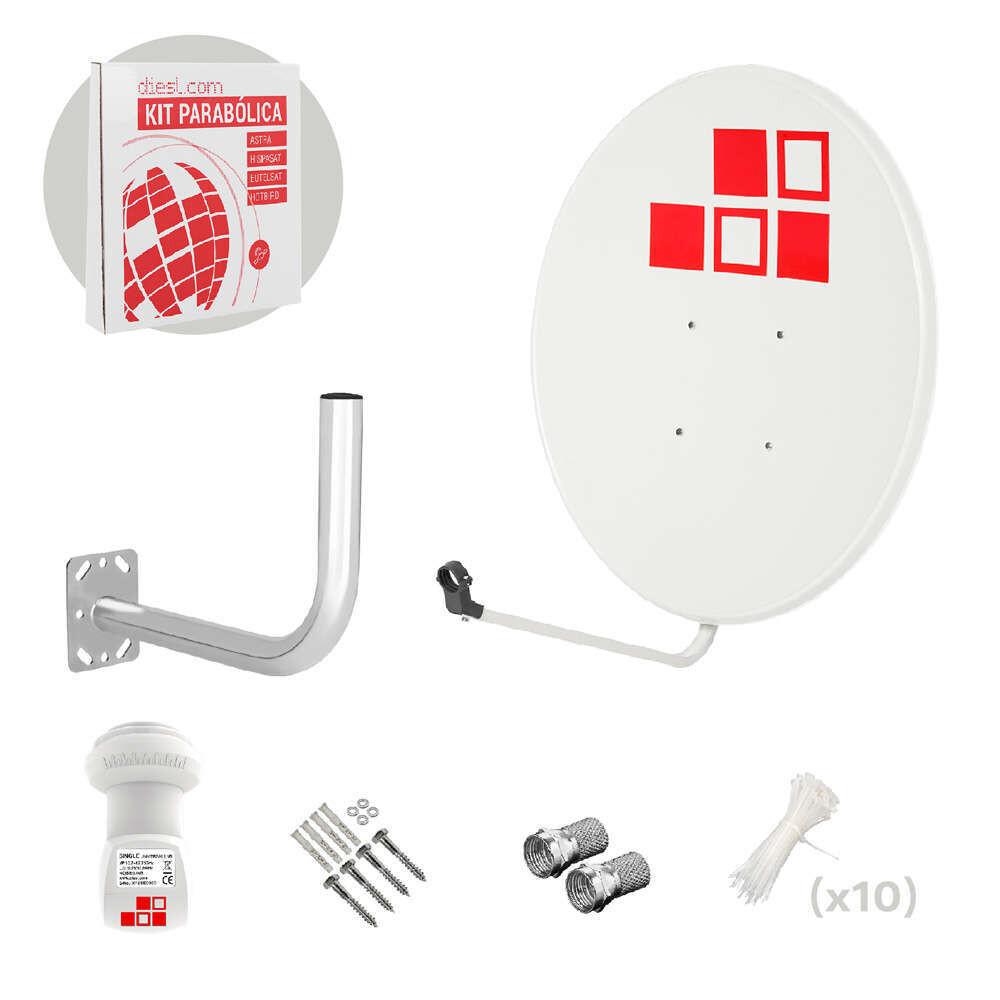 Kit Internet satelital