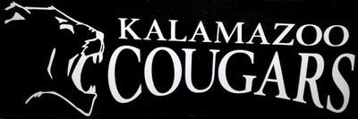 Kalamazoo Cougar window sticker/decal