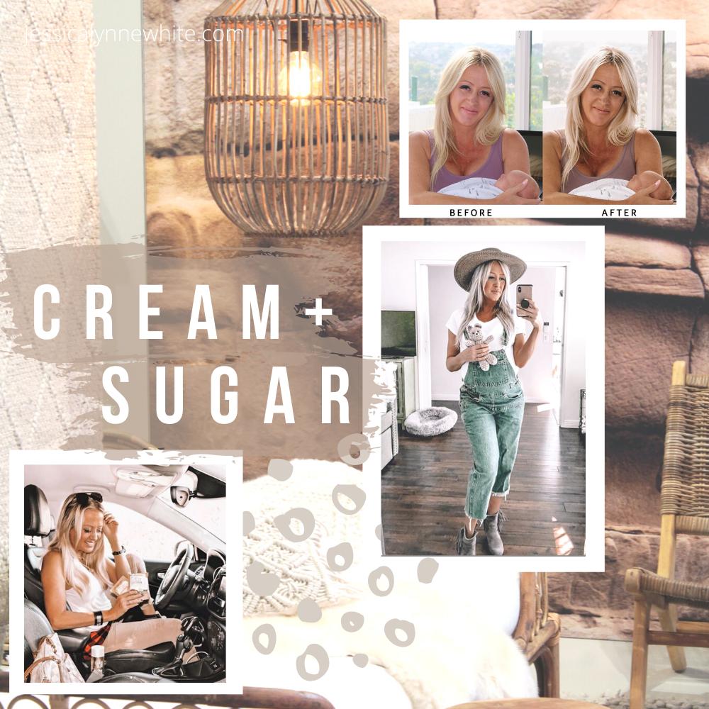 Cream + Sugar Lightroom Presets