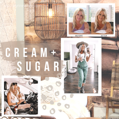 Cream + Sugar Lightroom Presets