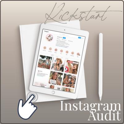 Kickstart - Instagram Audit Bundle